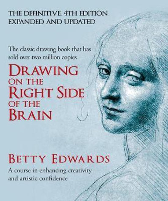Boek cover Drawing on the Right Side of the Brain van Betty Edwards (Hardcover)
