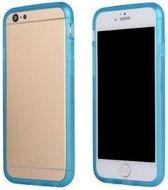 TPU Bumper iPhone 6(s) - Cyaan