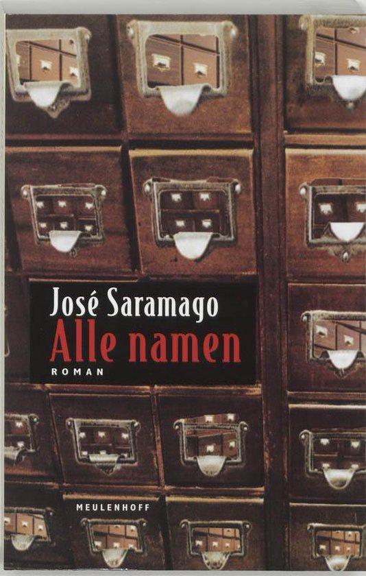 Alle namen - Jose Saramago |