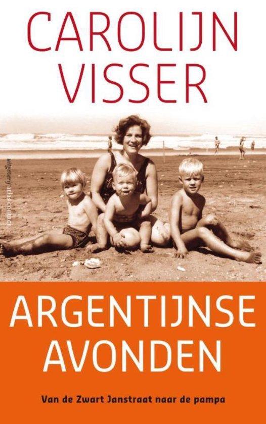 Boek cover Argentijnse avonden van Carolijn Visser (Onbekend)