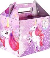 Little Unicorn Dreams traktatie doosje p/stuk