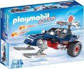 PLAYMOBIL Sneeuwscooter met ijspiraat  - 9058