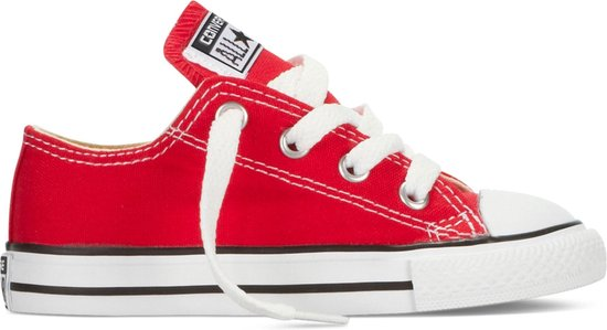 Converse Meisjes Sneakers Chuck Taylor As Ox Inf - Rood - Maat 25
