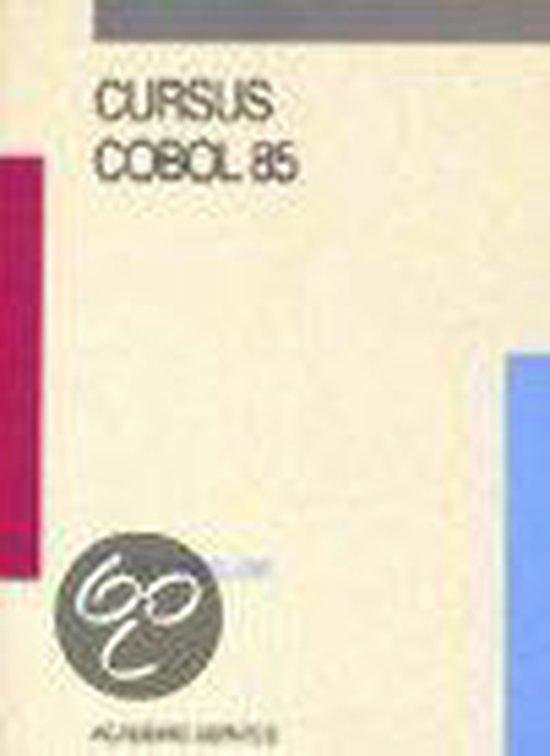 Cover van het boek 'Cursus COBOL 85 / druk 1'