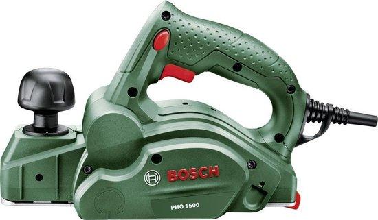 Bosch PHO 1500 Schaafmachine - 550 W - Tot 1,5 mm spaandiepte