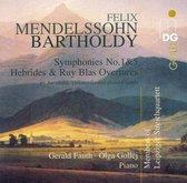 Mendelssohn-Bartoldy: Symphonies Nos. 1 & 5; Hebrides & Ruy Blas Overtures