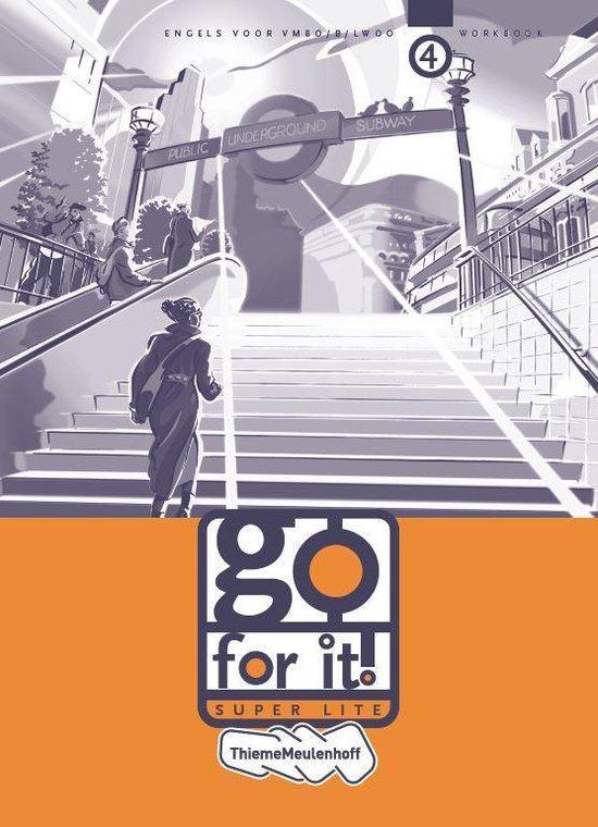Go for it! super lite 4 Vmbo/B/lwoo Workbook - E. Manders | Fthsonline.com