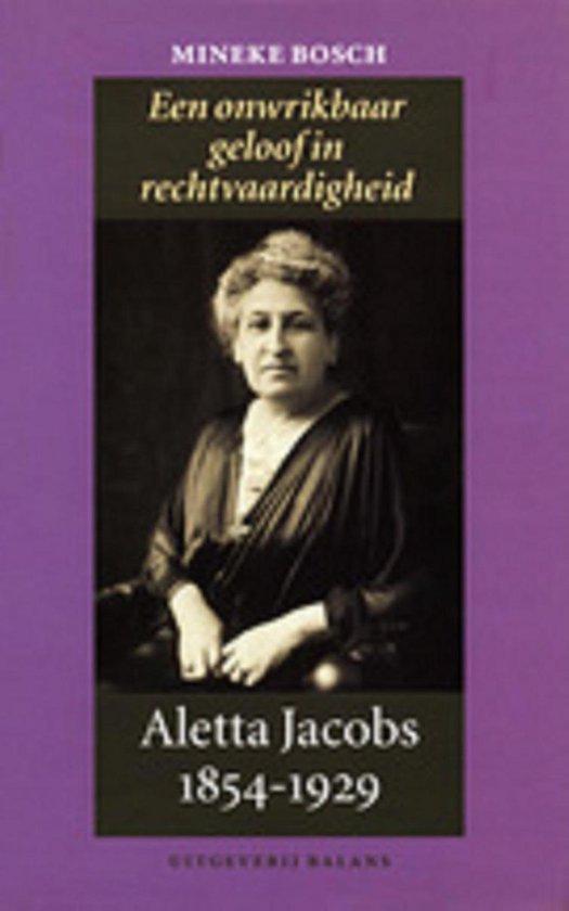 Aletta Jacobs 1854-1929 - Mineke Bosch  