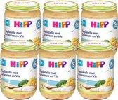 HiPP maaltijd vanaf 8 maanden - Tagliatelle met Groenten en Vis - 6 stuks 190 gr