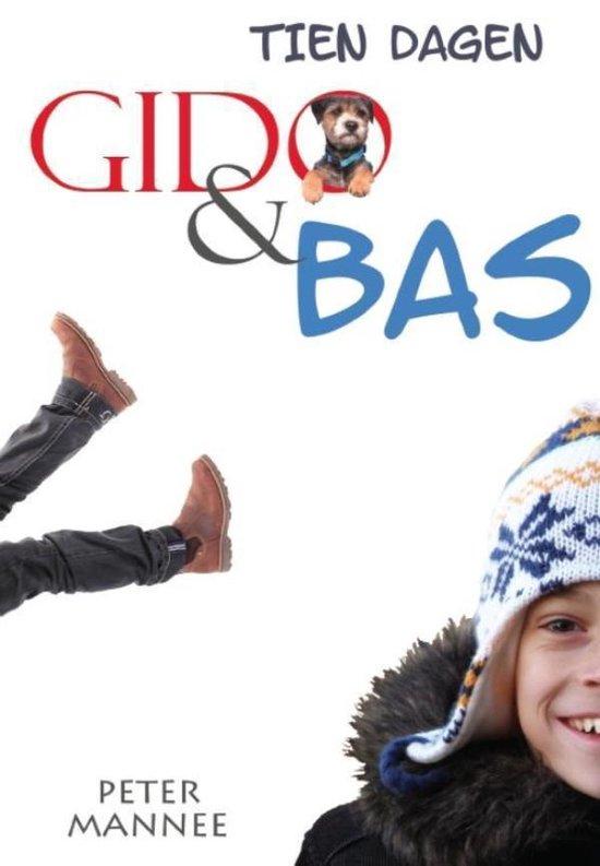 Cover van het boek '10 dagen Gido en Bas' van Peter Mannee