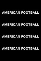 American Football American Football