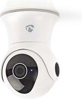 Nedis WIFICO20CWT Slimme WiFi waterbestendige IP-buitencamera met Pan/Tilt/Zoom (Full-HD 1080p, PTZ)
