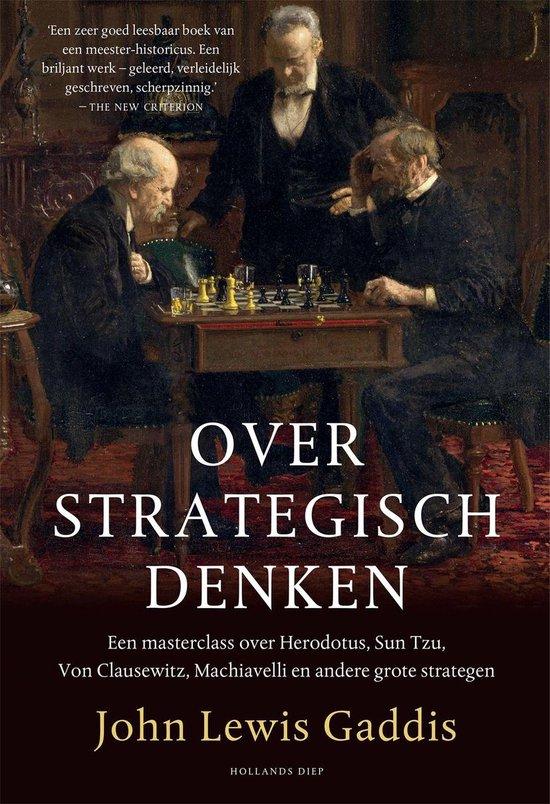 Boek cover Over strategisch denken van John Lewis Gaddis (Onbekend)