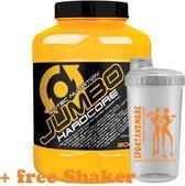 Scitec Nutrtion - Jumbo Hardcore - 3060 g - 20 porties - Poeder - Brownie-Praline + sportandmore shaker