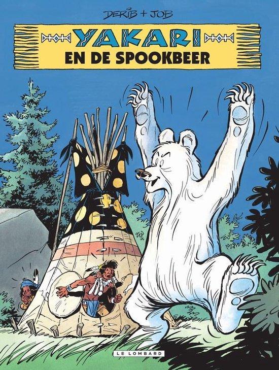 Yakari 24. yakari en de spookbeer - Derib |