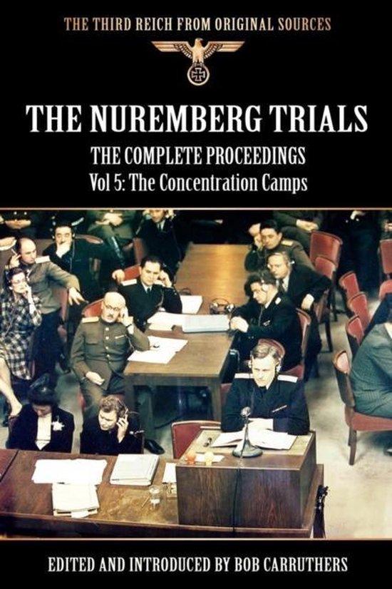 Boek cover Vol. 5 Nuremberg Trials van Bob Carruthers (Paperback)