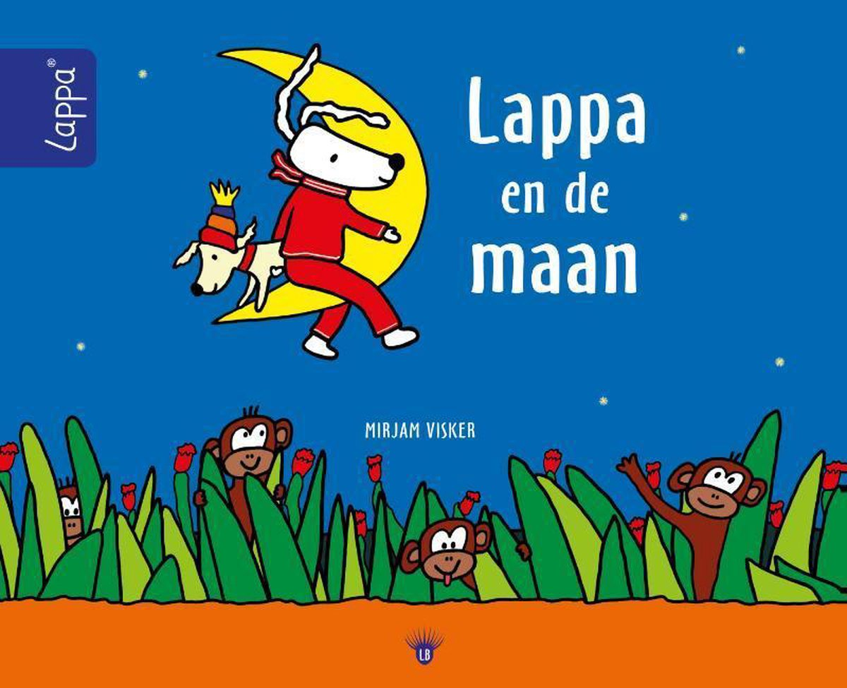 LAPPA® Kinderboeken - Lappa en de maan