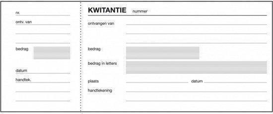 Kwitantieblok - Expres SI-40030 - 80x250mm - 100vel