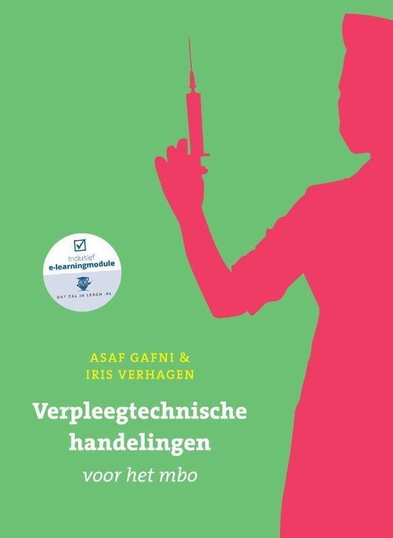 Boek cover Verpleegtechnische handelingen voor het MBO van Asaf Gafni (Paperback)