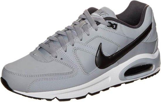 Nike Air Max Command Leather Heren Sneakers - Wolf Grey/Black - Maat 46