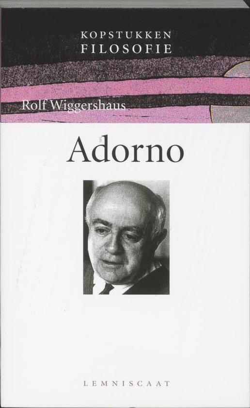 Adorno - Rolf Wiggershaus |