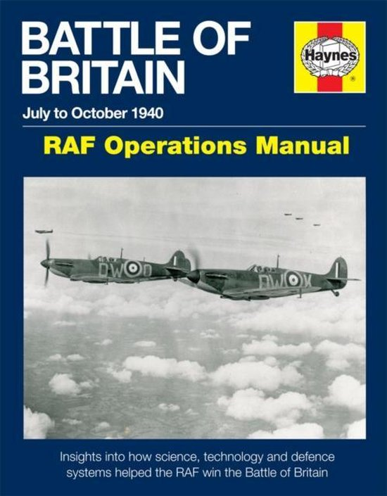 Boek cover Battle Of Britain Manual van Andy Saunders (Hardcover)