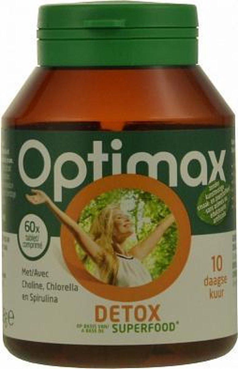 Optimax detox 10-daagse kuur * 60 st - Optimax