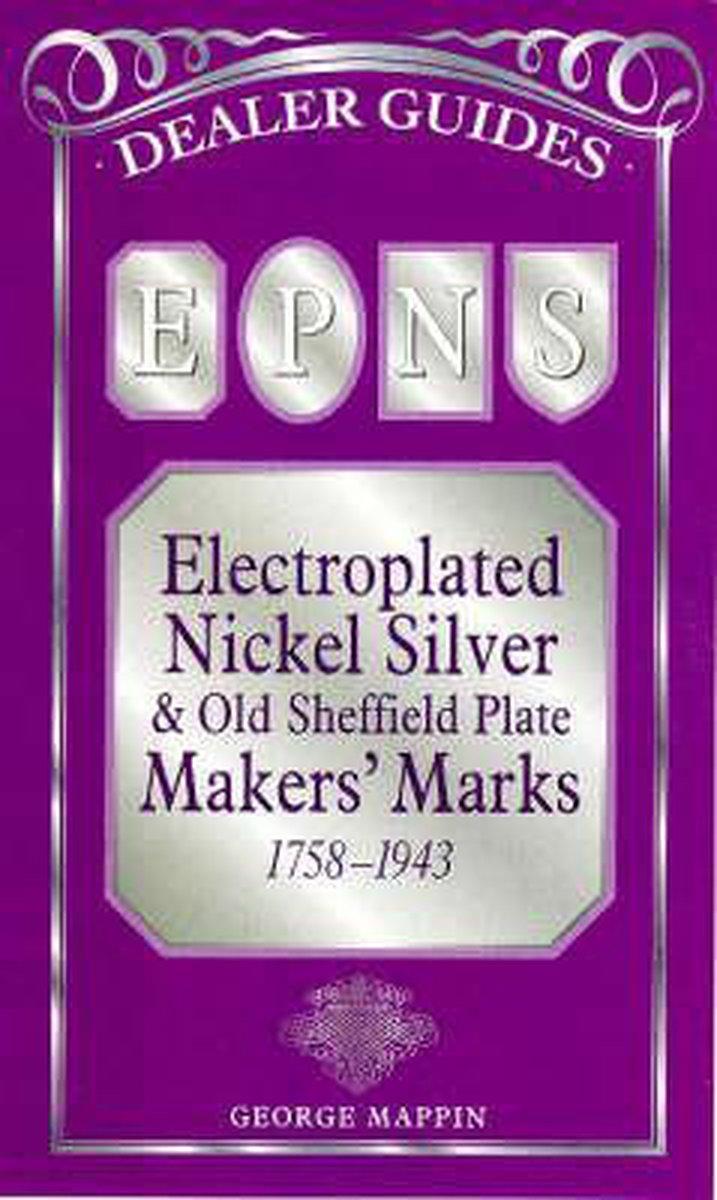 Silver plate maker marks