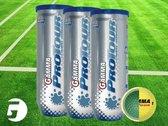 Gamma Sports Pro Tour tennisballen (4-pack)