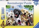 Ravensburger puzzel Hondenselfie - legpuzzel - 300 stukjes