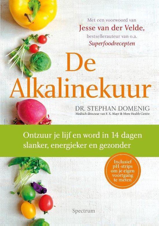 Boek cover De Alkalinekuur van Stephan Domenig (Hardcover)