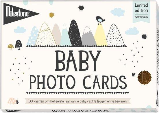 Milestone™ Baby Photo Cards Mijlpaalkaart - Over the Moon