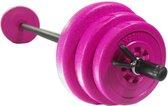 Sportbay® Body pump set| halterset 20 kg | Halterstang met gewichten