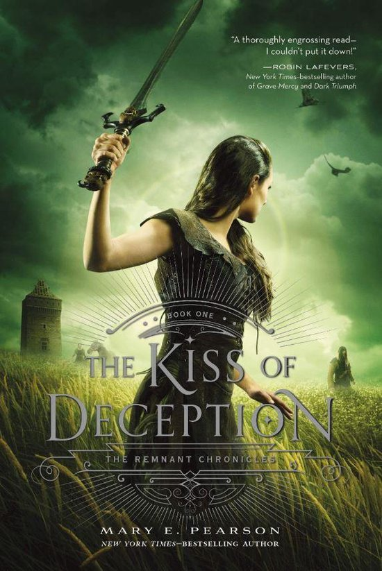 Boek cover The Kiss of Deception van Mary E Pearson (Paperback)