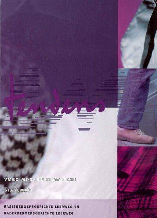 Cover van het boek 'Tendens MC / vmbo mode en commercie / deel Stagekatern / druk 1'
