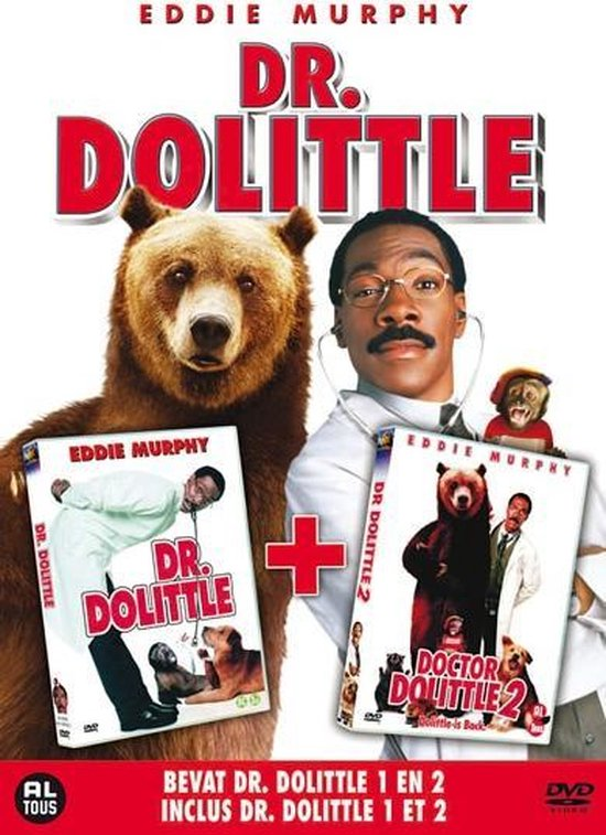 Cover van de film 'Dr. Dolittle 1&2'
