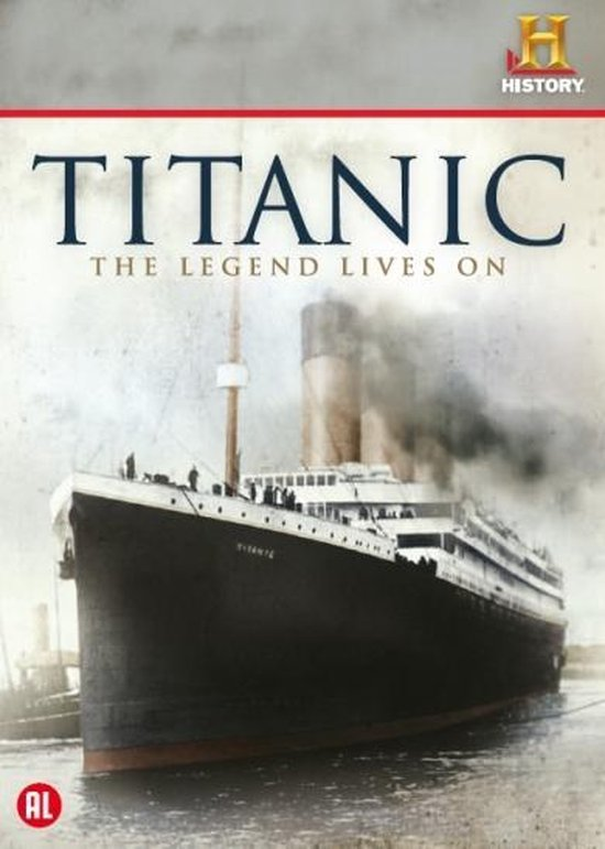 Speelfilm - Titanic The Legend Lives On