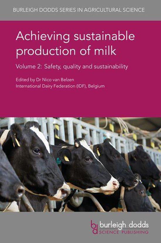 Boek cover Achieving sustainable production of milk Volume 2 van Sabine Cardoen (Onbekend)
