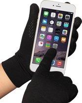 Handschoenen geschikt voor Touchscreen Bediening Smartphone – Waterafstotend - Maat M - Zwart