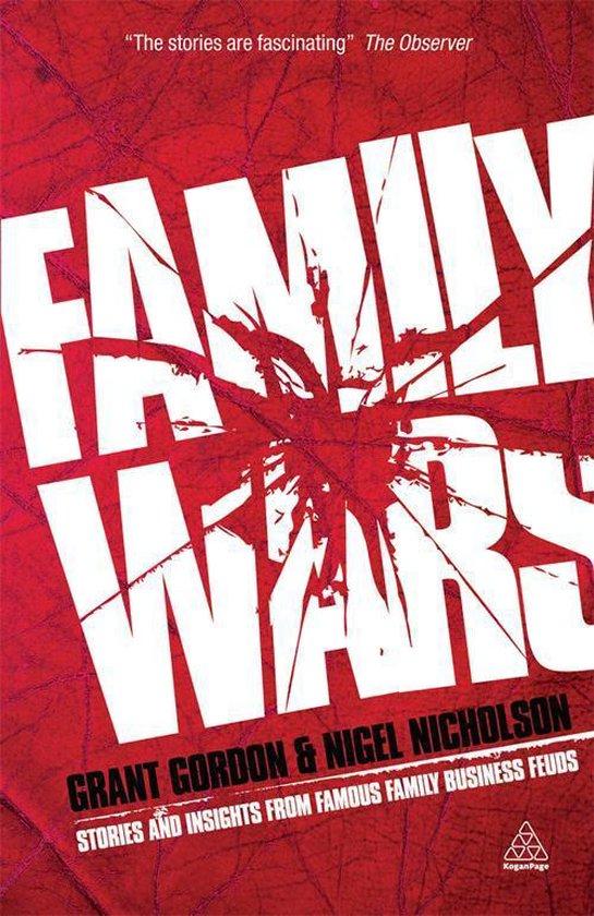 Boek cover Family Wars van Grant Gordon (Onbekend)