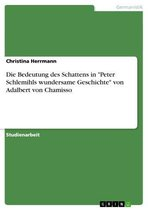 Die Bedeutung des Schattens in 'Peter Schlemihls wundersame Geschichte' von Adalbert von Chamisso