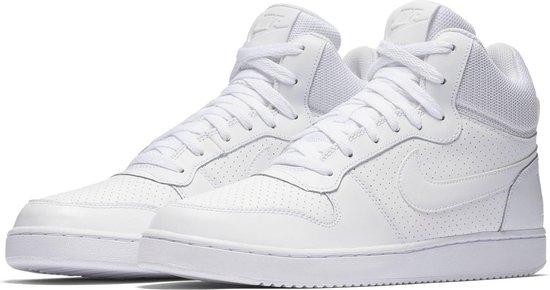 Nike Court Borough Mid Sneakers Heren - White/White-White