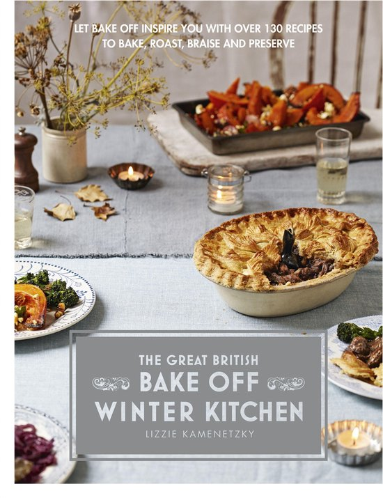 Boek cover Great British Bake Off: Winter Kitchen van Lizzie Kamenetzky (Onbekend)