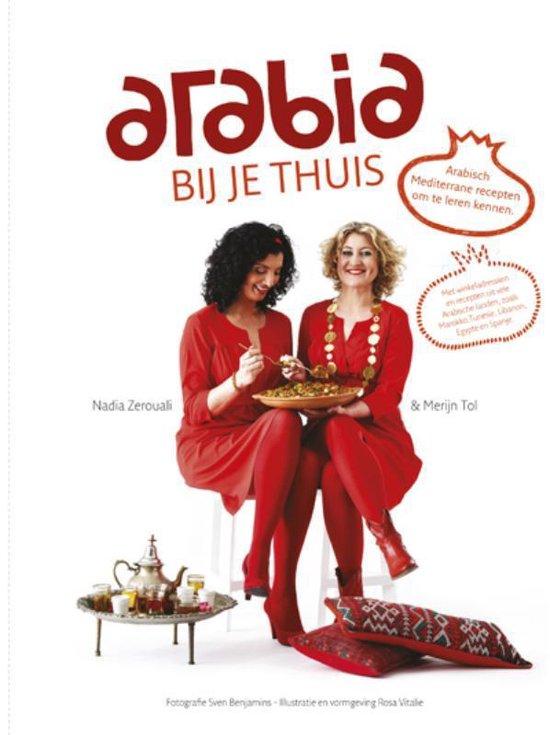 Boek cover Arabia bij je thuis van Merijn Tol (Hardcover)