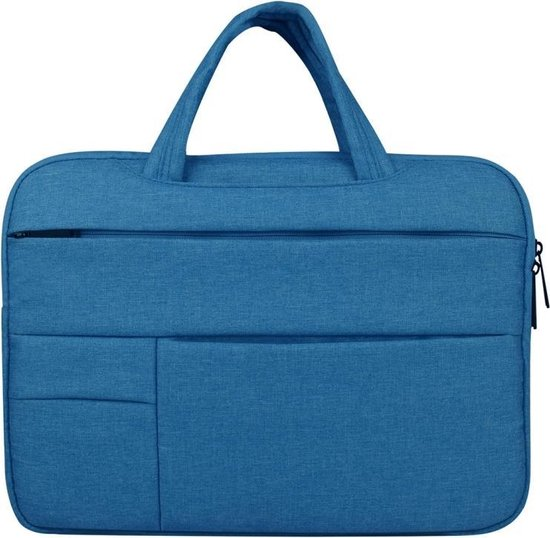 Let op type!! Universele 13.3 inch Business stijl Laptoptas met Oxford stof voor MacBook  Samsung  Lenovo  Sony  Dell  Chuwi  Asus  HP (blauw)