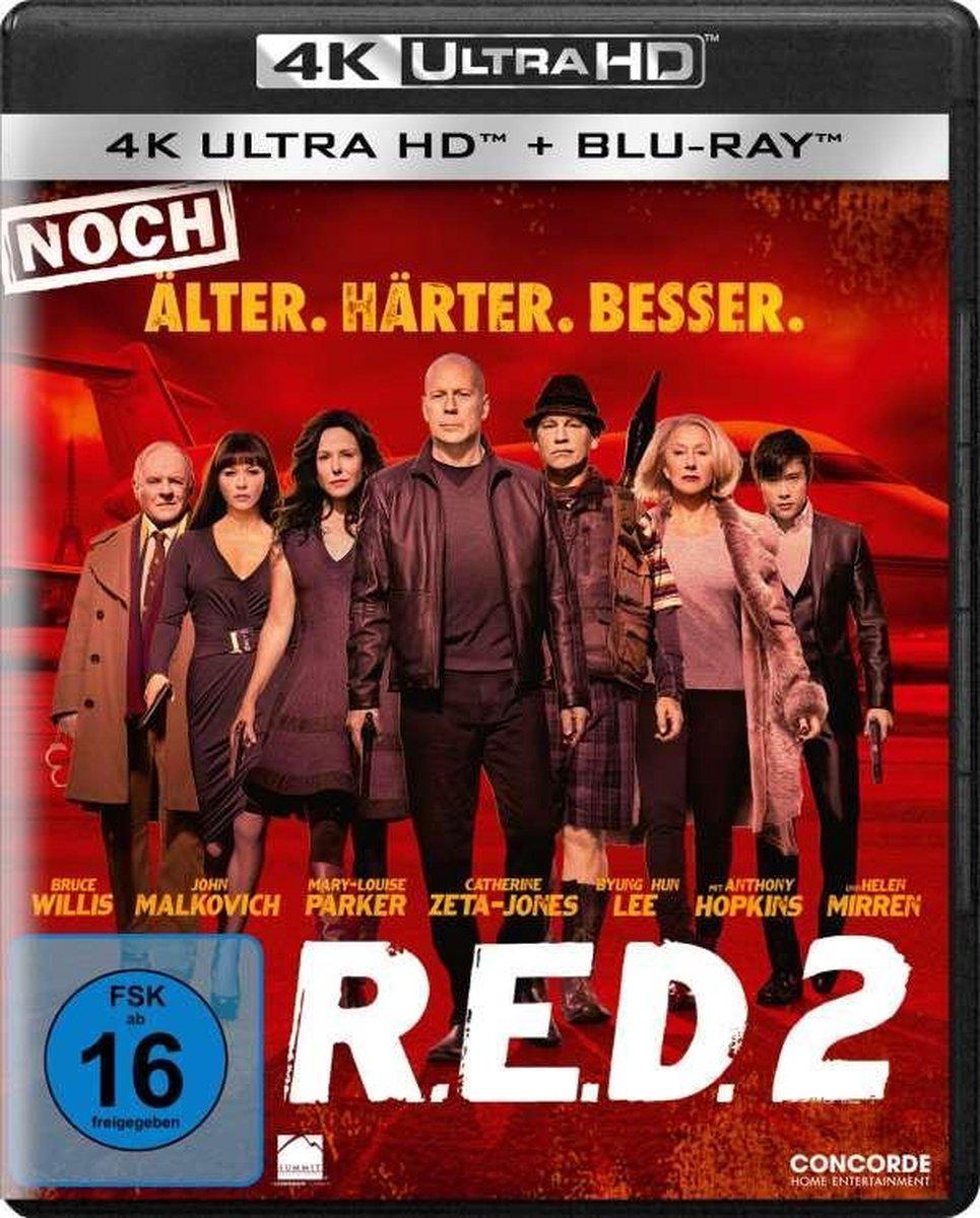 R.E.D. 2 (Ultra HD Blu-ray & Blu-ray)-