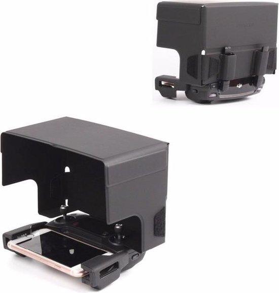 zonnescherm drone telefoon