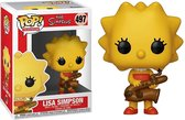 Funko Pop! The Simpsons Lisa Simpson with Saxophone Vinyl Figure