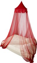 Deconet 'CASTLE'® klamboe-polyester-1-2pers-Rood