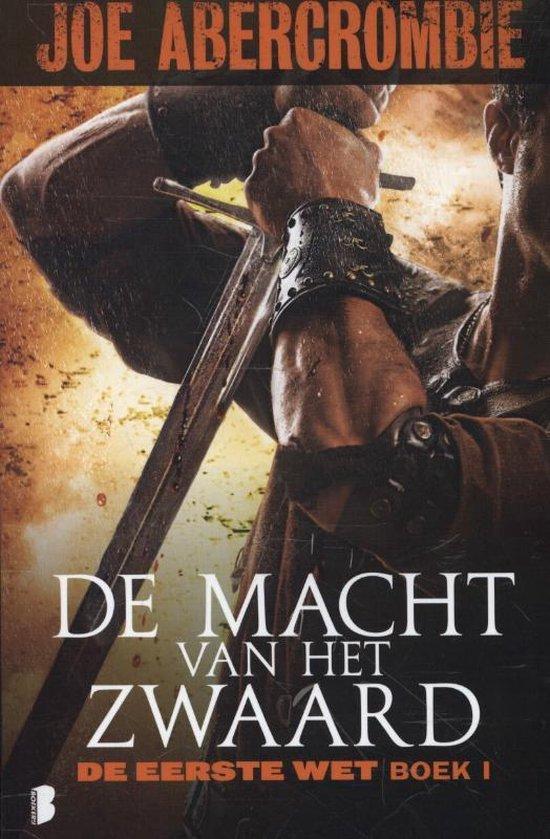Cover van het boek 'De macht van het zwaard' van Joe Abercrombie
